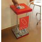 Single Box Cycle Recycling Bin - 60 & 80 Litre Available
