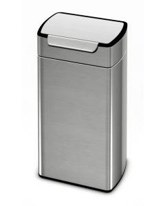Simplehuman Touch Bar Rectangular Litter Bin - 30 & 40 Litre Available