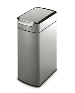 Simplehuman Slim Touch Bar Litter Bin - 40 Litre