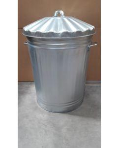 Metal Trash Can - 90 Litre