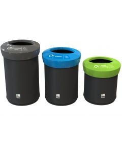 Round Ace Recycling Bin in 3 Sizes