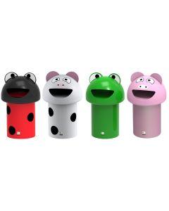MiniBuddie Litter Bins Choice of 4 Animals - 60 Litre