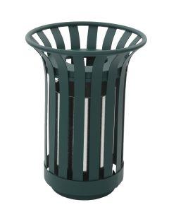 Round Outdoor Waste Bin - 23 Litre