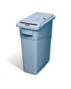 Slim Jim Confidential Paper Recyling Bin with Lock - 60 Litre