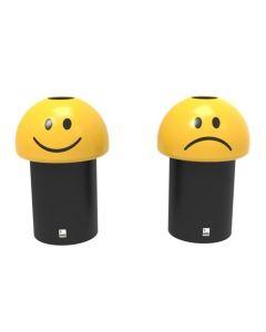Emoji Style Litter Bin - 60 Litre