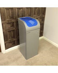 Lute Single Stream Recycling Bin - 80 Litre