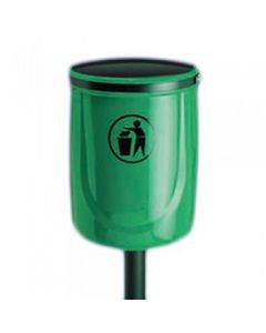 Osprey Outdoor Litter Bin Available with Hood - 40 Litre