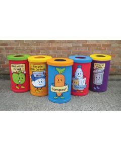 Popular Character 42 Litre Recycling Bins
