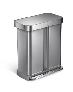 Simplehuman Dual Compartment Recycling Bin - 58 Litre