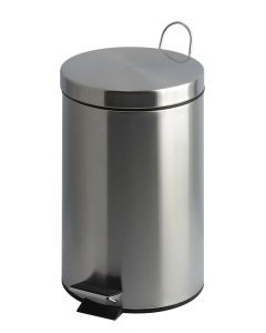 Stainless Steel Pedal Bins - Available in 3 Sizes