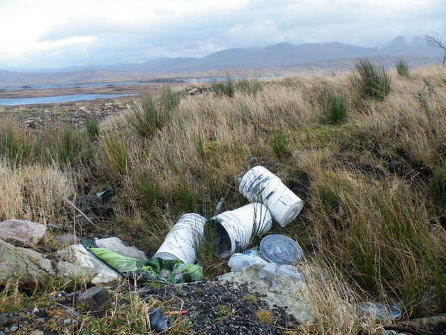 illegal dumping of waste