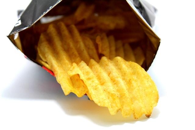 crisps packet