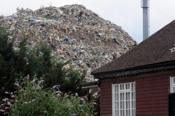 rubbish mound
