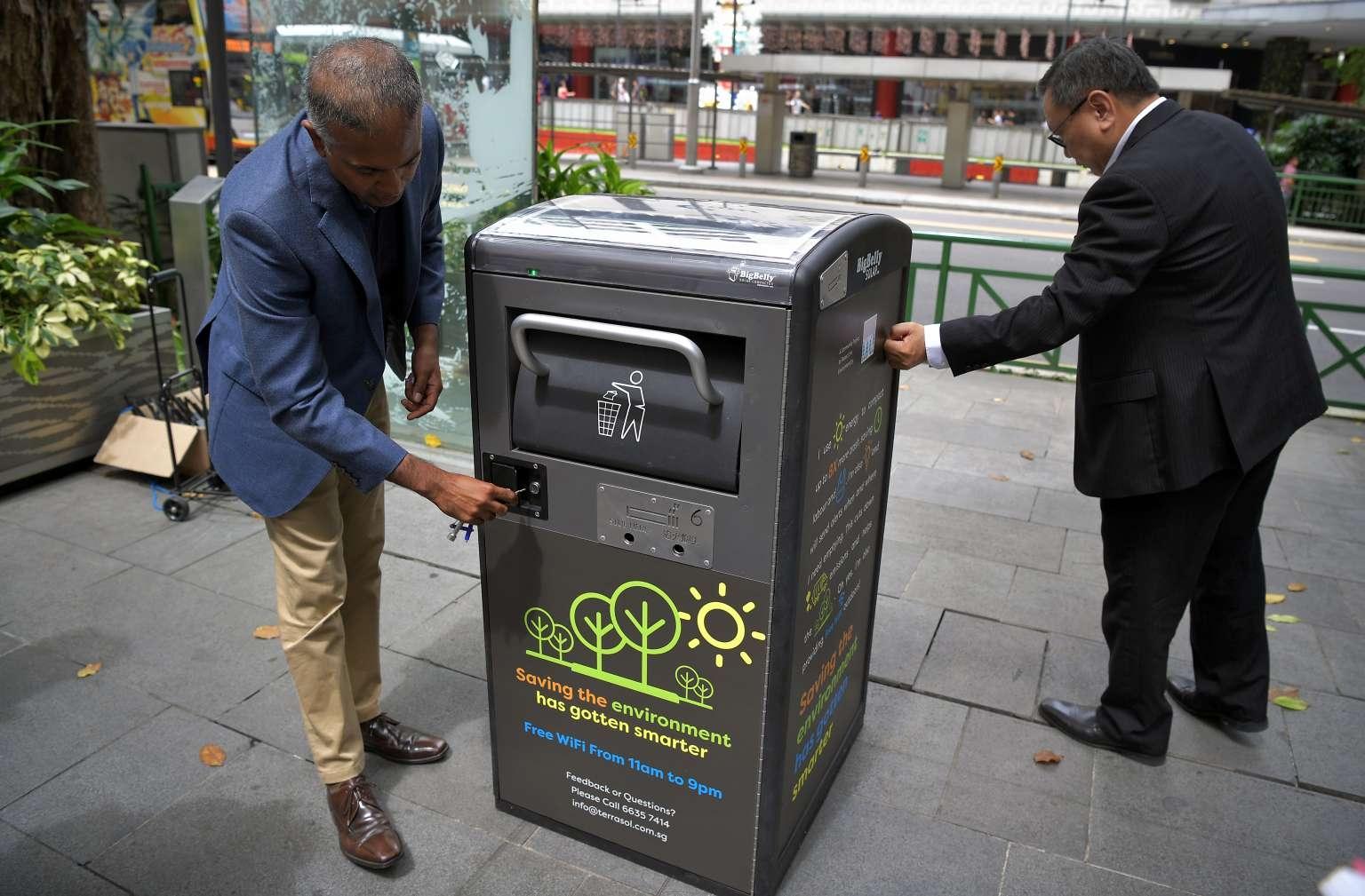 smart bins