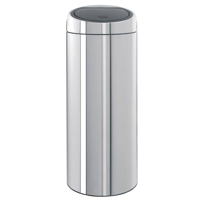 Brabantia Touch Bin 50 Liter Wit.Brabantia Touch Bin 30 Litre