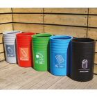 Circular Open Top Recycling Units - 91 Litre