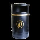 Nickleby Outdoor Mountable Waste Bin - 40 Litre