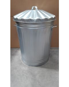 Metal Trash Can - 90 Litre