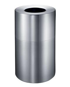 Large Aluminium Litter Bin - 130 Litre