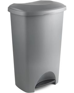 50 Litre Plastic Pedal Bin - Available in 5 Colours