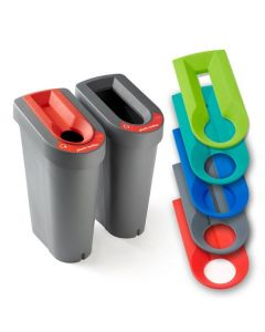 Smart Recycling Bin with Optional Lid Insert - 70 Litre