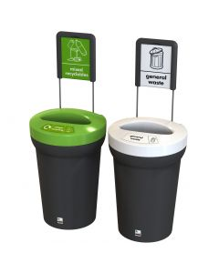 Coloured Arena Recycling Bin - 95 Litre
