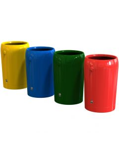 Metro Round Open Top Litter Bin - 95 Litre