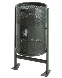 Heavy Duty Outdoor Litter Bin - 60 & 80 Litre Available