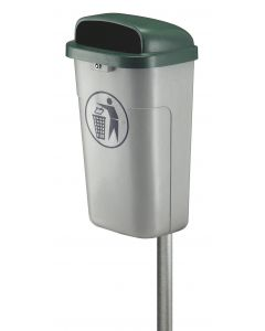 Fire Resistant Outdoor Waste Bin - 50 Litre