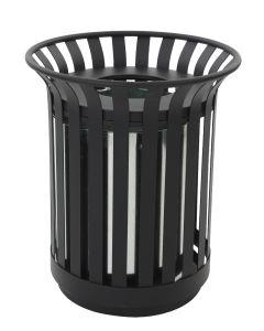 Round Outdoor Litter Bin - 69 Litre