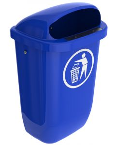 Mountable Outdoor Rubbish Bin - 50 Litre