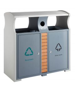 Outdoor Recycling Bin - 78 Litre