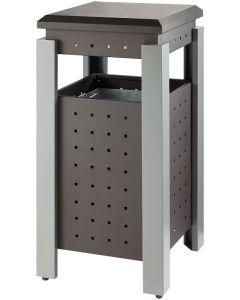 Square Outdoor Waste Bin - 36 Litre