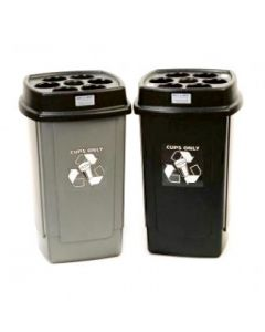 Standard Becca Cup Recycling Bin - 480 Cup Capacity