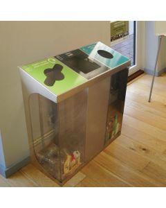 C-Bin Triple Recycling Bin - 180 & 240 Litre