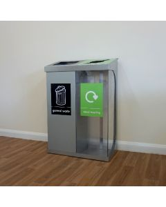 C-Bin Double Recycling Unit - 120 & 160 Litre Available