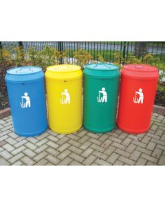 Drinks Can Litter Bin - 90 Litre