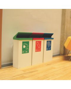 Easi-Cycle Recycling Bins - 80 Litre