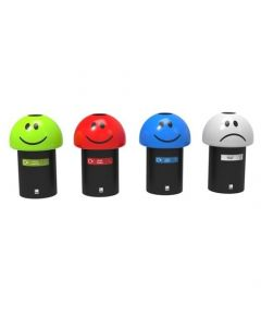 Emoji Style Recycling Bin