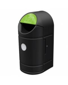 Exeo External Recycling Bin - 90 Litre