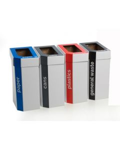 MyBin Set of 5 Recycling Bins - 60 Litre CLEARANCE
