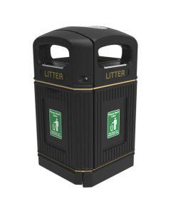 Heritage XL Outdoor Litter Bin - 240 Litres