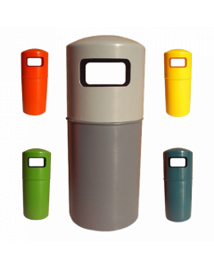 90 Litre - Hooded Top Litter Bin