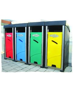 Key Free Outdoor Litter Bins