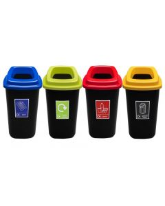 Durable Open Top 45 Litre Recycling Bin