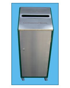 Confidential Waste Paper Recycling Bin - 80 Litre