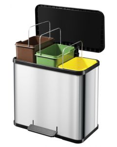 Hailo Trento Oko Trio 27 - 3 x 9 Litre Compartments