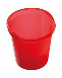 Translucent Waste Baskets (Packs of 4) - 13 Litre
