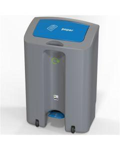 Single SteriBin Recycling Bin - 90 Litre