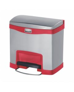 Rubbermaid Slim Jim Step-On Metal Containers - Available in 4 Sizes